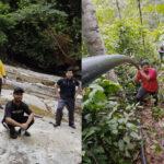 Pemuda HALUAN Kedah Bantu Penduduk Kampung Setar Membaiki Saluran Paip Air di Gunung Jerai